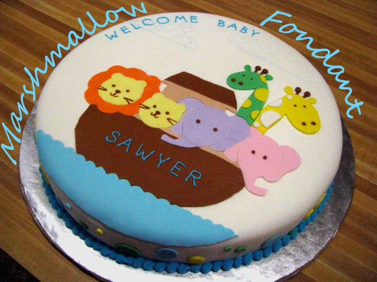 Decorate Cake With Marshmallow Fondant : Marshmallow Fondant Beck Bakes (And Cooks!)
